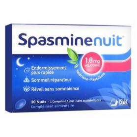Spasmine Nuit 1,8 mg Mélatonine 30 Comprimés