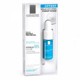 LA ROCHE POSAY Hyalu B5 Riche 40ml + Mini serum Hyalu B5 10ml offert
