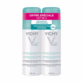 Vichy anti-transpirant aérosol 2x125ml