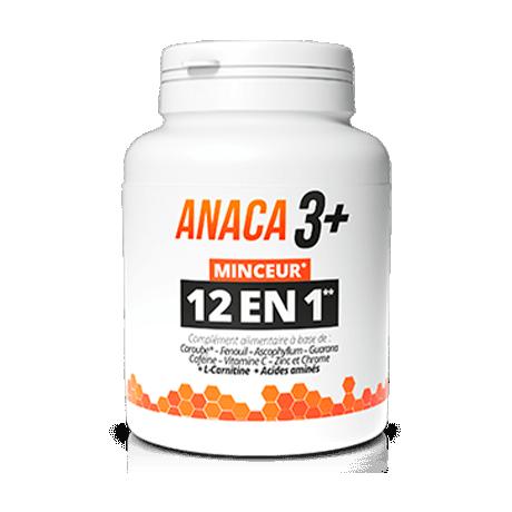 ANACA3+ Minceur 12en1 120 gélules