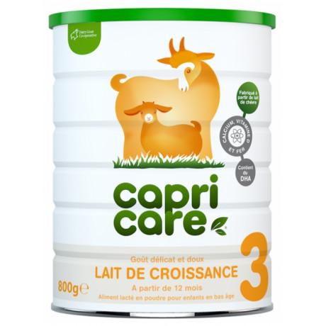 Capricare Lait de Croissance 3 dès 12 Mois 800 g