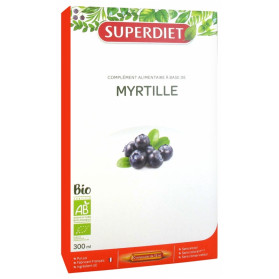 SuperDiet Myrtille Bio 20 Ampoules