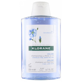 Klorane Shampooing Fibres de Lin 200ml