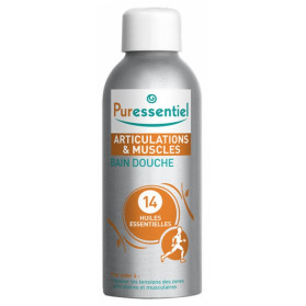 Puressentiel Bain Douche Articulations aux 14 Huiles Essentielles 100 ml