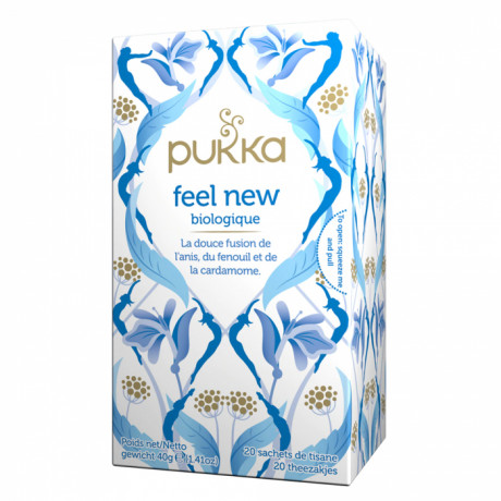 PUKKA infusion feel new BIO 20 sachets de tisane