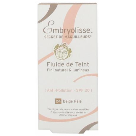 Embryolisse Secret de Maquilleurs Fluide de Teint 30 ml - Teinte : Beige Hâlé 04