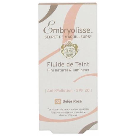 Embryolisse Secret de Maquilleurs Fluide de Teint 30 ml - Teinte : Beige Rosé 02
