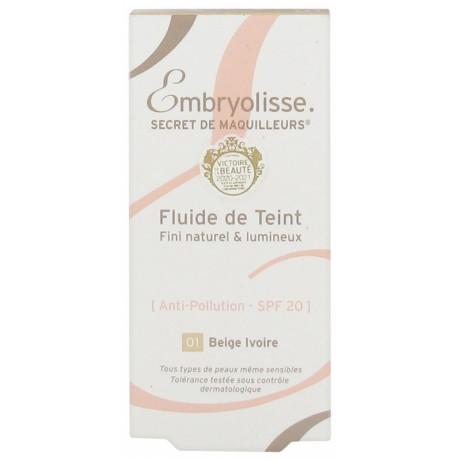 Embryolisse Secret de Maquilleurs Fluide de Teint 30 ml - Teinte : Beige Ivoire 01