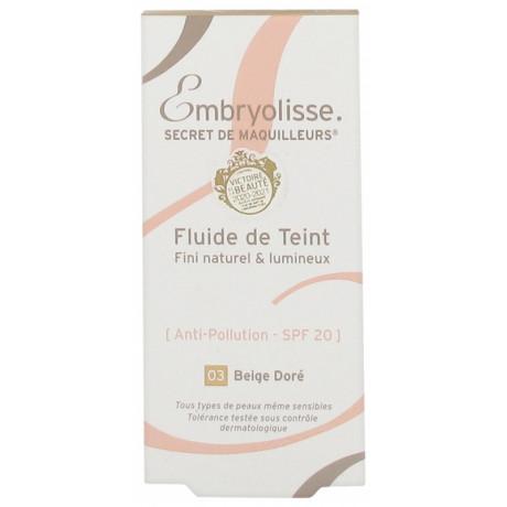 Embryolisse Secret de Maquilleurs Fluide de Teint 30 ml - Teinte : Beige Doré 03