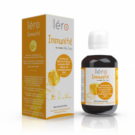 LERO immunité dès 3 ans sirop 125ml