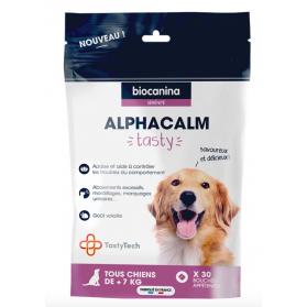 Biocanina Alphacalm Tasty chien 30 bouchées appétentes
