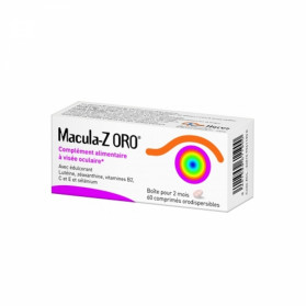 Macula-Z ORO 60 comprimés orodispersibles