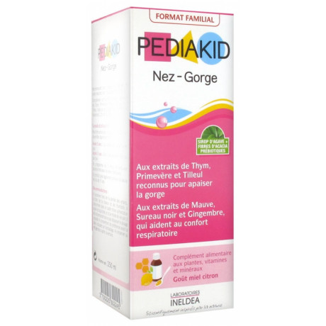 Pediakid Nez Gorge Format Familial 250 ml