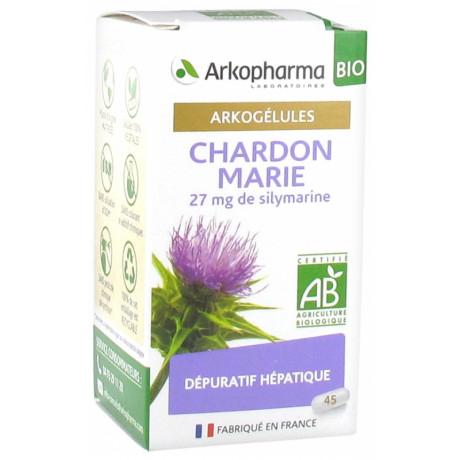 Arkopharma Arkogélules Chardon Marie Bio 45 Gélules