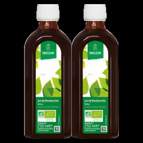 Weleda Duo Detox Bouleau Bio 2 x 250 ml + Bouteille Nomade Offerte