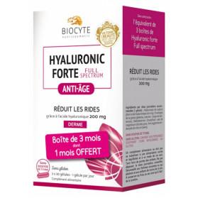 Biocyte Hyaluronic Forte Full Spectrum 3 x 30 Gélules