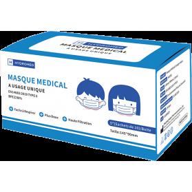 Masque chirurgical Enfants type IIR boite de 50 unités