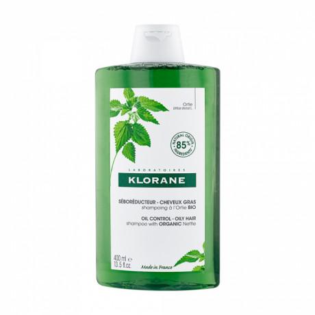 Klorane shampooing seboregulateur à l'ortie BIO 400ml