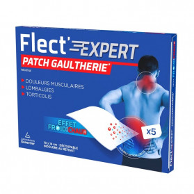 Flect'expert patchs gaultherie boite de 5