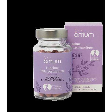 OMUM l'intime nutricosmetique confort intimes 60 gelules