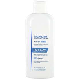 Ducray Squanorm Shampoing Traitant Pellicules Sèches 200 ml