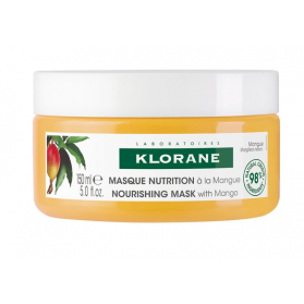 Klorane masque nutrition à la mangue 150ml