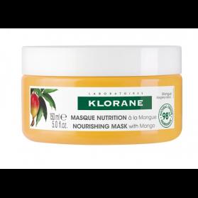 Klorane masque nutrition à la mangue 150ml
