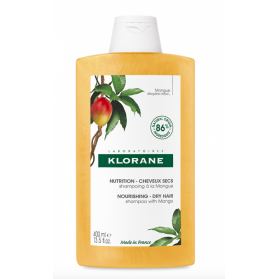 Klorane shampooing nutrition à la mangue 400ml