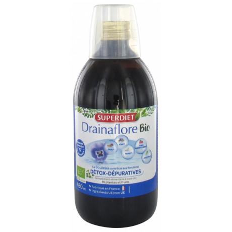 SuperDiet Drainaflore Bio 480 ml