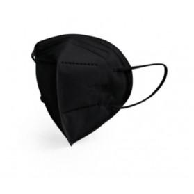 Masque de protection respiratoire FFP2 noir boite de 30 pièces