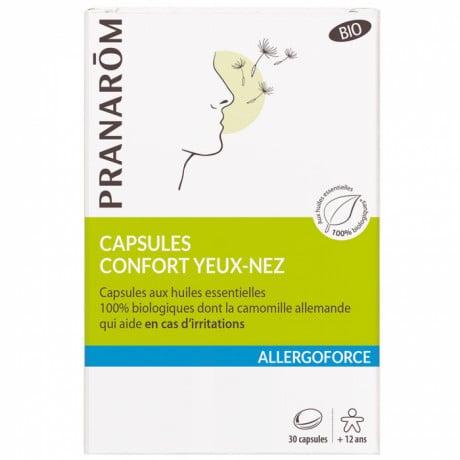 Pranarom allergoforce confort nez et yeux 30 capsules