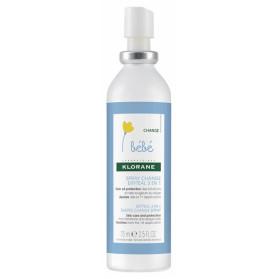 Klorane spray change bébé erytéal 3 en 1 au calendula 75ml