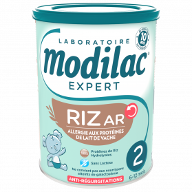Modilac expert riz AR 2ème age 800g