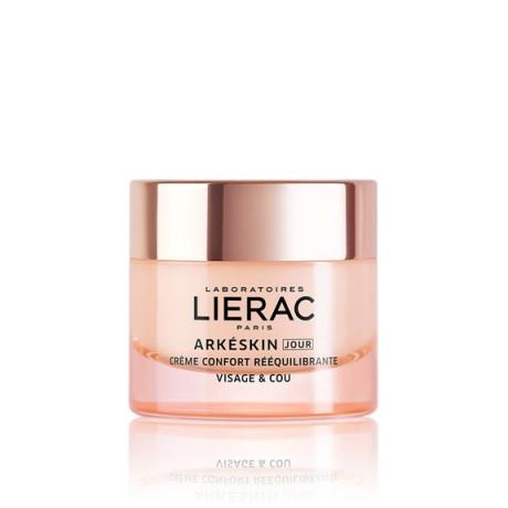 Lierac arkeskin jour crème confort rééquilibrante visage et cou 50ml