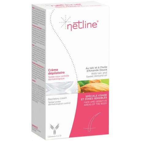 Netline Crème Dépilatoire Spéciale Visage