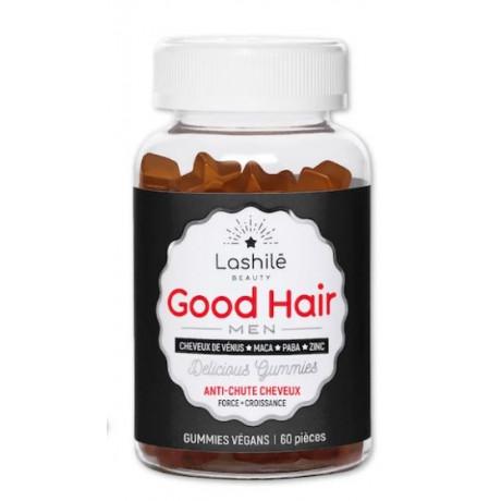 LASHILE BEAUTY good hair Men 60 gummies