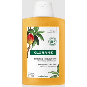 Klorane shampooing nutritif beurre de mangue 200ml