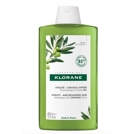 Klorane shampooing vitalité à l'olivier bio 400ml