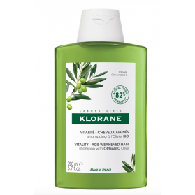 Klorane shampooing vitalité à l'olivier Bio 200ml