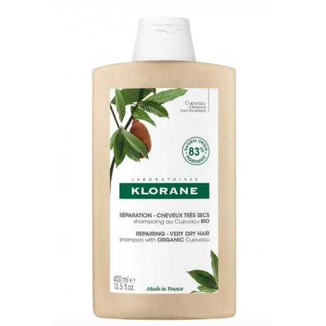 Klorane shampooing réparation au cupuaçu bio 400ml
