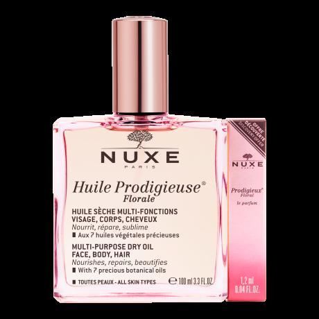 Nuxe Huile Prodigieuse Florale 100 ml + parfum prodigieux floral 1,2ml
