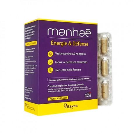 Manhaé énergie & défense 30 gélules