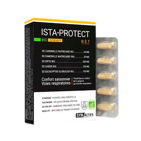 Synactifs Ista-Protect BIO 20 gélules