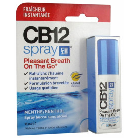 CB12 Spray Buccal Sans Alcool Menthe 15 ml