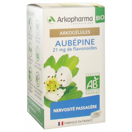 Arkopharma Arkogélules Aubépine Bio 150 Gélules