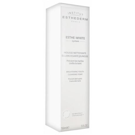 Esthederm Esthe-White System Mousse Nettoyante Éclaircissante Jeunesse 150 ml