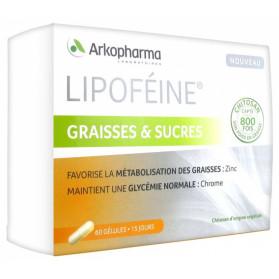 Arkopharma Lipoféine Graisses et Sucres 60 Gélules