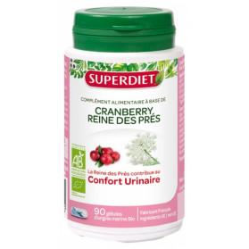 Super Diet Cranberry et Reine des Prés Bio 90 Gélules