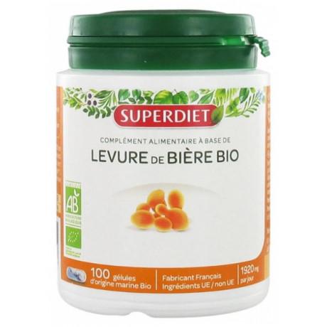 Super Diet Levure de Bière Bio 100 Gélules