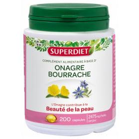 Super Diet Huile d'Onagre - Bourrache 200 Capsules